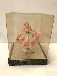 Dresden Art Ballerina Figurine Original Box