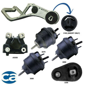 Rear Motor Mount Bushing With Complete Set 6pc For 500 Freestyle