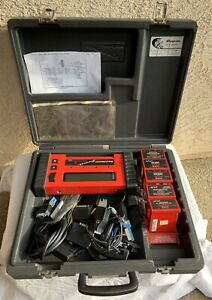 Snap On Mt2500 Diagnostic Vehicle Scanner W Cartridges Cables Keys See