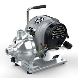 Gas Powered Water Utility Pump Portable Easy Carry Compact Powerful Motor Handy