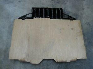 Mk3 Toyota Supra Rear Hatch Spare Tire Wood Cover Oem Part