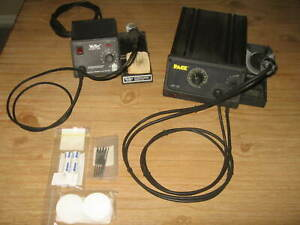 Pace St75 Weller Ec3001 Solder desolder Stations Terrific Units With Extras