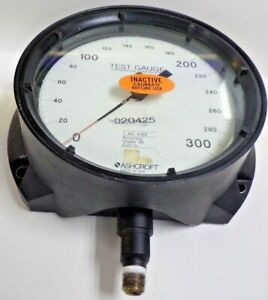 Ashcroft Test Gauge 0 300 Psi 6 3 8 Face Diameter 020425
