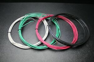 14 Gauge Thhn Wire Solid Pick 3 Colors 100 Ft Each Thwn 600v 90c Cable Awg