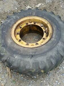 1 17 5 25 Tg Loader Tires And Wheel