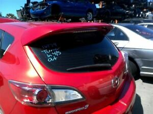 Trunk hatch tailgate Hatchback Spoiler With Turbo Fits 10 13 Mazda 3 975447