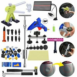 56 Super Pdr Tools Paintless Dent Repair Dent Puller Auto Body Hail T Hammer Us