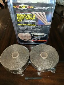 Design Engineering 010095 Titanium Heat Wrap Kit With Lr Technology 2 X 50