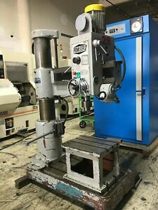 Promaster 32 Radial Arm Drill Press 2 Hp With 3 Phase Induction Motor