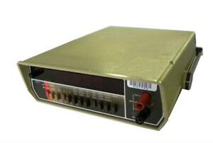 Keithley Instruments 177 Microvolt Dmm Sold As Is