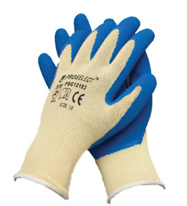 16 Proselect Psg12153 Kevlar Knit Gloves Cut Resistant Rubber Palm Medium