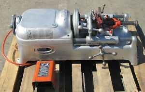 Ridgid 535 Pipe Threader Threading Machine With Foot Switch 1 8 To 2 300 700 5