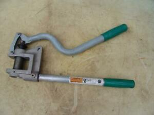 Greenlee 710 Knock Out Stud Punch 1 Conduit 1 11 32 Dia 20 Ga 7