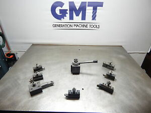 Phase Ii 250 Piston Type Tool Post With 7 Holders gmt 1965