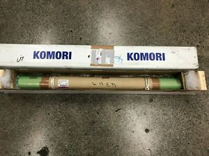 Komori Gl40 Y Water Chrome Dampener Roller No Journals Ca1 8403 p01