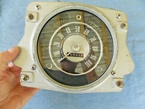 1972 Ford Bronco Speedometer And Gauge Cluster Part D2bf 10876