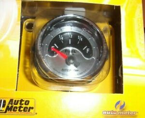 Autometer 1217 American Muscle 2 1 16 Fuel Level Gas Gauge Ohms 240e 33full