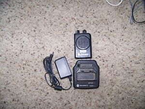 Motorola Minitor 5 V Vhf Pager 151 159 2 Channel Sv Needs Some Work