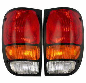 Fit For Mazda B2300 2500 1994 2000 Rear Tail Lamp Right Left Pair Set