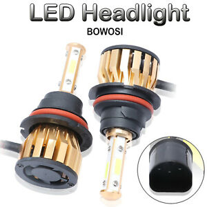 Auto Parts Cree Led Headlight 9007 Hb5 Lamps 6500k Waterproof Conversion Kit
