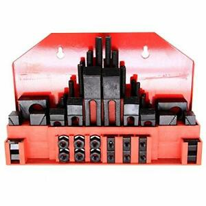 58pc 7 16 Slot 3 8 Stud Hold Down Clamp Clamping Set Kit Bridgeport Mill