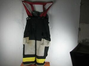 Firefighter Turnout Bunker Pants Globe 38x26 Extreme Halloween Costume 1992
