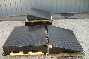 60 Ton Extreme Heavy Duty Wheel Risers Service Ramps Truck Machinery
