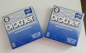 Brother International 3015 6pk Lift off Correction Tape For Typewriters Lot Of 2
