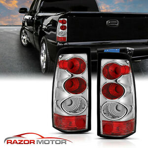 2003 2004 2005 2006 Chevy Silverado 1500 2500 3500 Red Tail Lights Pair