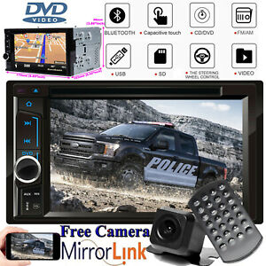 Fit Ford Expedition Edge Explorer Car Cd Dvd Player Stereo Mirrorlink Gps Camera