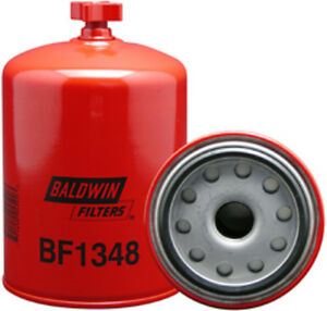 Baldwin Filter Bf1348 Fuel Water Separator Filter Spin On With Drain