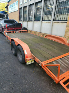 16ft Trailer Flatbed Heavy Duty