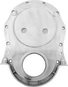 Timing Cover 1 Piece Aluminum Polished Big Block Chevy Each