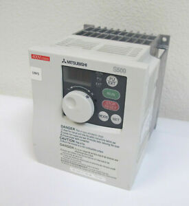 Mitsubishi S500 Inverter Drive Vfd Fr s540 0 75k na Variable Frequency 1hp