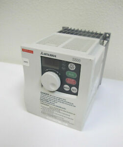 Mitsubishi S500 Inverter Drive Vfd Fr s540 3 7k na Variable Frequency 5hp