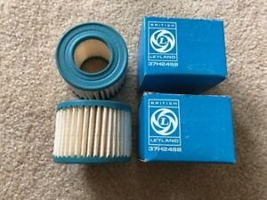 Nos British Leyland Air Pump Filters 2 Mgbs Midgets Austin Healey Sprite s