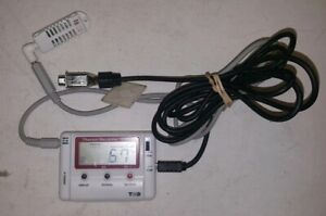 Thermo Recorder Data Logger Temperature And Humidity Tr 72ui