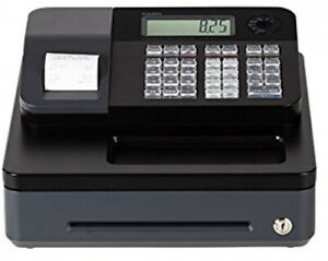 Casio Entry Level Cash Register Pcr T273 Thermal Printer Electronic Rear Display