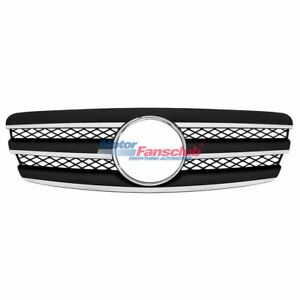 3 Fence Front Sport Black Vent Grill For Mercedes Benz E320 E500 W211 2003 2006