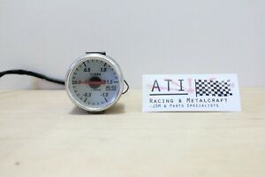 Blitz Turbo Boost Vacuum Gauge White 60mm Jdm Blitz Japan