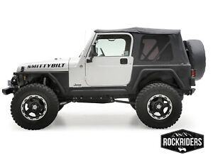 97 06 Jeep Wrangler Tj Soft Top With Rear Tinted Windows 3 Year Warranty 9971235