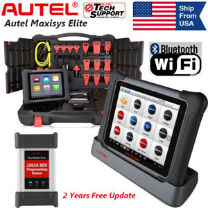 Autel Maxisys Elite Obd2 Auto Scan Tool Diagnostic Tablet J2534 Ecu Programming