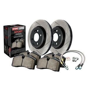 Stoptech Disc Brake Pad And Rotor Kit Front For 08 11 Honda Accord Acura Tsx