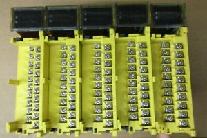 Fanuc Plc Cards Lot Of 5 Missing Covers see Description For Model Numbers