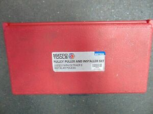 Matco Tools Mst93 Pulley Puller And Installer Complete Set In Box Tool Sale