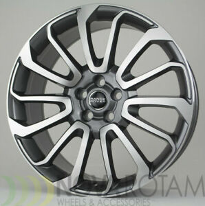 2019 Autobiography 22 Range Rover Hse Machined Gray 2018 2017 Sport Wheels Rims
