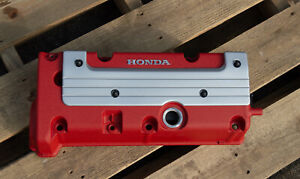 Honda K24 K20 Type R Accord Civic Rsx Valve Cover Powder Coated In Red Wrinkle