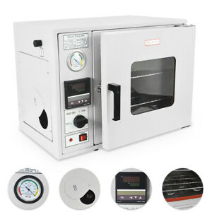 0 9 Cu Ft 480 f Lab Vacuum Air Convection Drying Oven Lcd Display 110v 25l