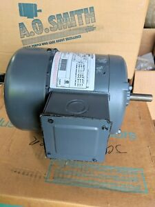 Century Ac Motor Ao Smith H868 1 2 Hp 208 230 460 V 60 Hz 3 Ph 1725 Rpm 5 8 Key