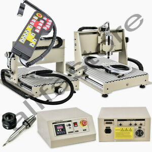 Parallel 3 Axis Cnc 6040z Router Engraver 1500w Engraving Machine Metalwork Rc